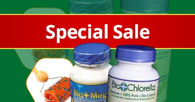 Health Natural Products and Dietary Supplements -Bio Chlorella and Bio Mega3- Specials