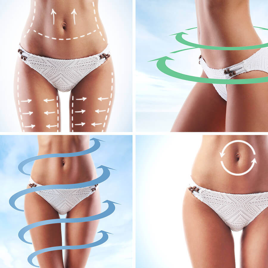 Body zones for energy meridian massagers